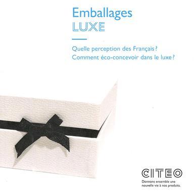 """Etude """"Shopper Luxe"""" de CITEO"""