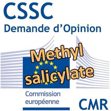 Methyl salicylate : Demande d'Opinion au CSSC