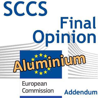 Addendum à l'Opinion du CSSC sur l'aluminium : version finale