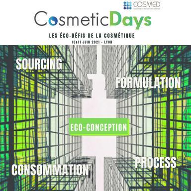 Les CosmeticsDays reviennent sur le thème de l'éco-conception