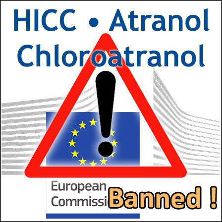Reminder: HICCs, Atranol and Chloroatranol banned since23August2019