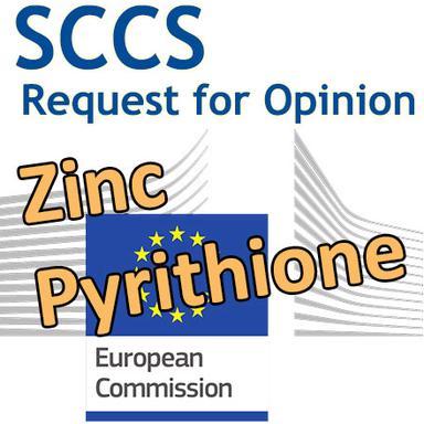 Zinc pyrithione : demande d'Opinion au CSSC