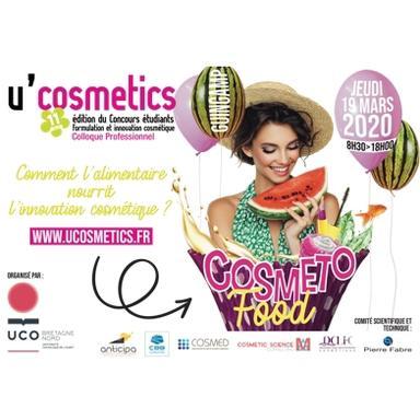 U'Cosmetics 2020 part à l'assaut de la cosmétofood