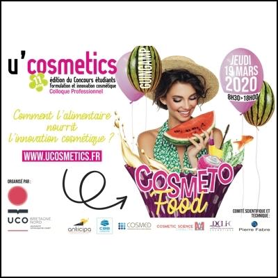 U'Cosmetics2020takes on the cosmetofood challenge