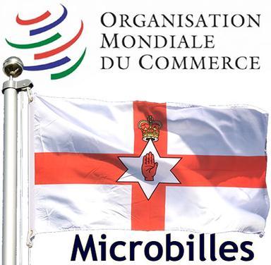 Logo OMC et Drapeau de l'Irlande du Nord