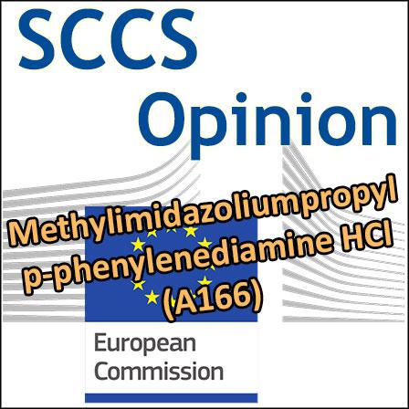 SCCS Opinion on Methylimidazoliumpropyl p-phenylenediamine HCl (A166)