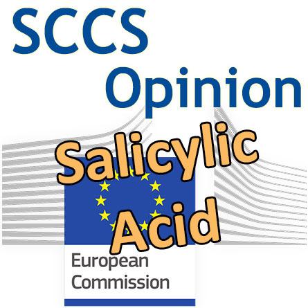 Salicylic Acid: the SCCS final Opinion