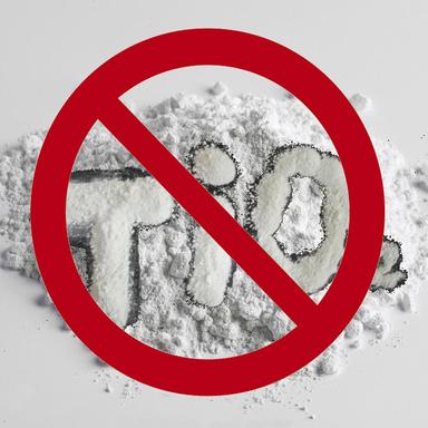 La France interdit le dioxyde de titane dans les denrées alimentaires