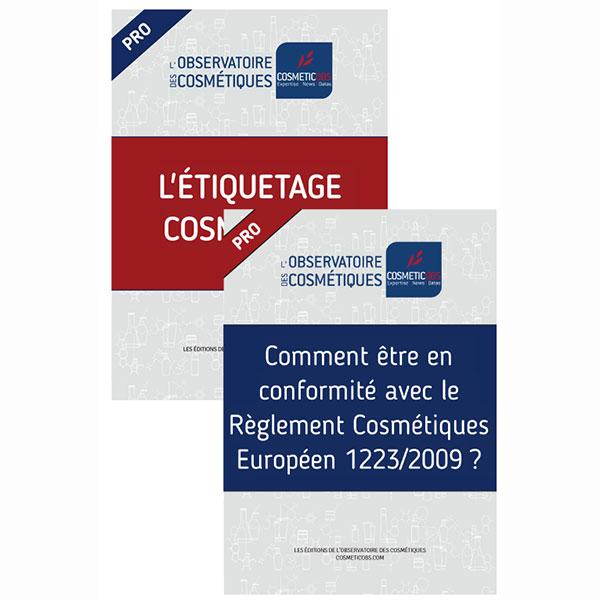 Couverture des ebooks Règlement et Étiquetage cosmétiques