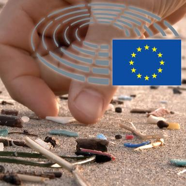 Le Parlement européen contre les microplastiques