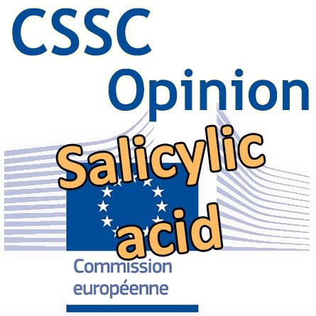 Salicylic acid: l'Opinion finale du CSSC