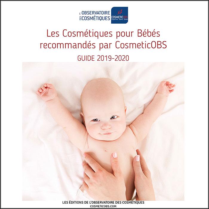 Les Cosmétiques pour Bébés recommandés par CosmeticOBS