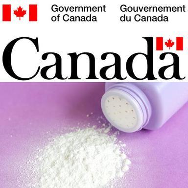 Le Canada envisage des mesures de restrictions du talc dans les cosmétiques