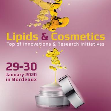 Congrès Lipids & Cosmetics : au cœur de l'innovation et de la recherche
