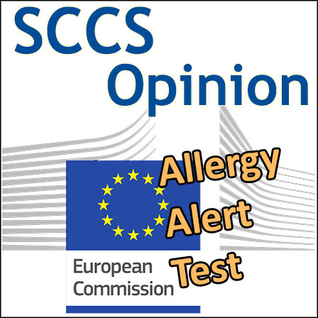 AAT (Allergy Alert Test): Opinion of the SCCS