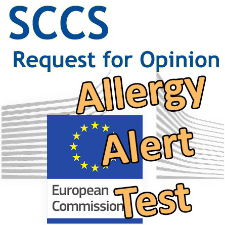 AAT (Allergy Alert Test): Request for an Opinion to SCCS