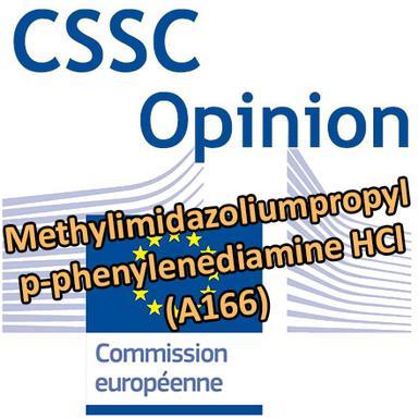 Opinion du CSSC sur le Methylimidazoliumpropyl p-phenylenediamine HCl (A166)