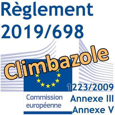 Règlement 2019/698 : Nouvelles restrictions pour le Climbazole