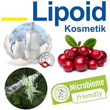 "Trois actifs de Lipoid Kosmetik certifiés ""microbiome-friendly"""