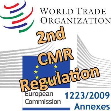 Le 2e Règlement CMR européen notifié à l'OMC