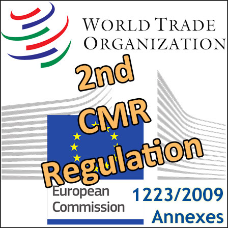 The2nd European CMR Regulation notified to the WTO