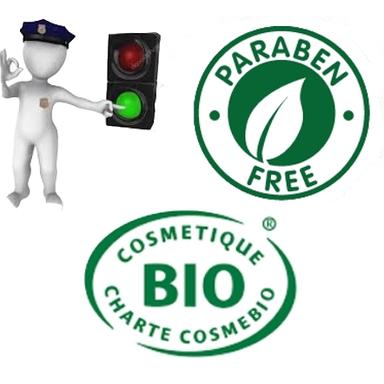 "Prohibition of ""Free-of.."" texts without legal value according to Cosmébio"