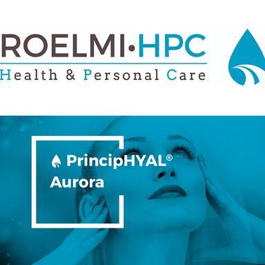PrincipHYAL® Aurora de Roelmi HPC : un jour nouveau pour une nouvelle peau