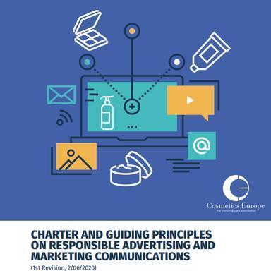"""Cosmetics Europe met à jour sa Charte """"Publicité et Marketing Responsable"""""""