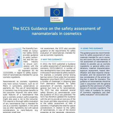 Évaluation de la sécurité des nanomatériaux : les lignes directrices du CSSC expliquées par la Commission européenne