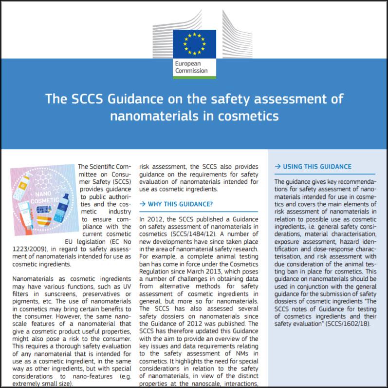 Évaluation de la sécurité des nanomatériaux: les lignes directrices du CSSC expliquées par la Commission européenne