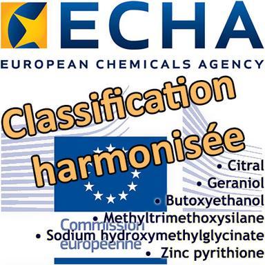 Proposition du RAC de classifications harmonisées
