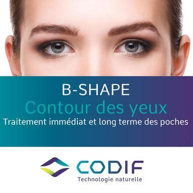 B-Shape, le nouvel actif anti-poches de Codif