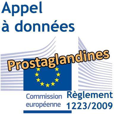 Appel à données de la Commission européenne sur les prostaglandines utilisées en cosmétique