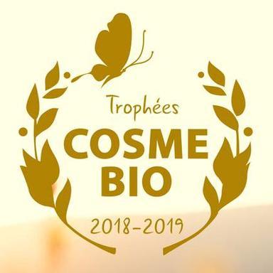 Logo des Trophées Cosmébio 2018-2019