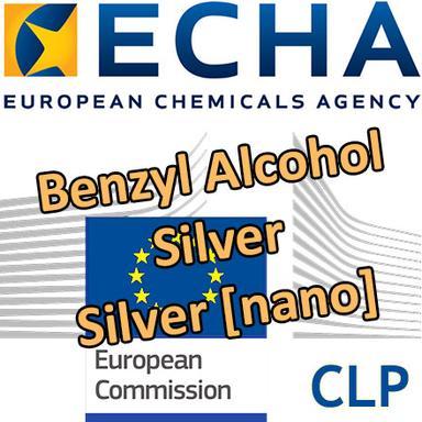 Propositions de classification harmonisée pour l'alcool benzylique et l'argent