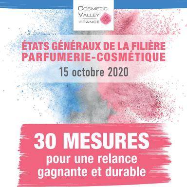 30 propositions de la Cosmetic Valley pour une relance durable de la filière