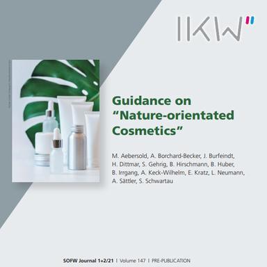 """Des lignes directrices pour les """"cosmétiques orientés Nature"""""""
