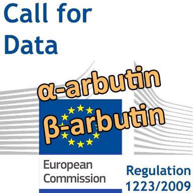 α- et β-arbutin : appel à données de la Commission européenne