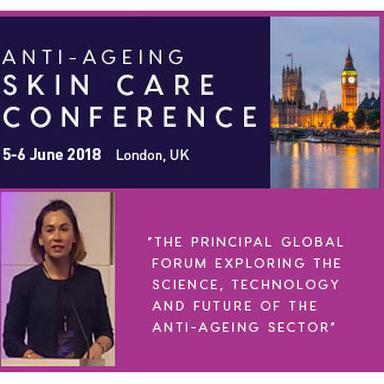 Le Dr Bianca McCarthy à la 6e Anti-Ageing Skin Care Conference
