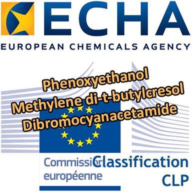Phenoxyethanol, Methylene di-t-butylcresol... : Opinions du RAC sur une classification harmonisée