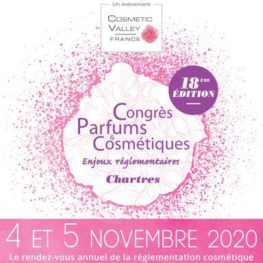 Congrès Parfums & Cosmétiques : le programme de l'édition 2020