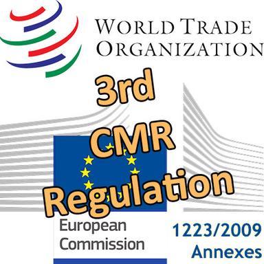 Le 3e Règlement CMR européen notifié à l'OMC