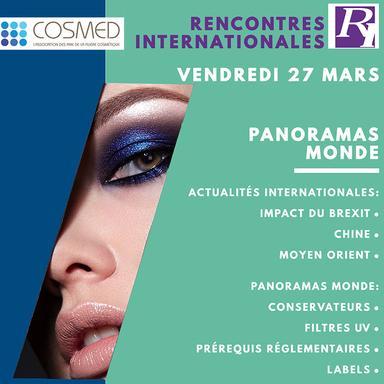 Les Rencontres Internationales 2020 de Cosmed