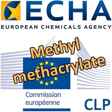 Consultation de l'ECHA sur la classification du Methyl methacylate en Sensibilisant respiratoire 1