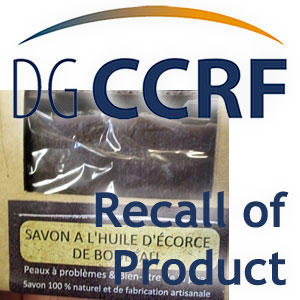Rappel d'un savon de la marque Berevolk