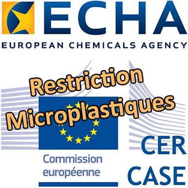 ECHA : avis favorable du CER à la restriction des microplastiques