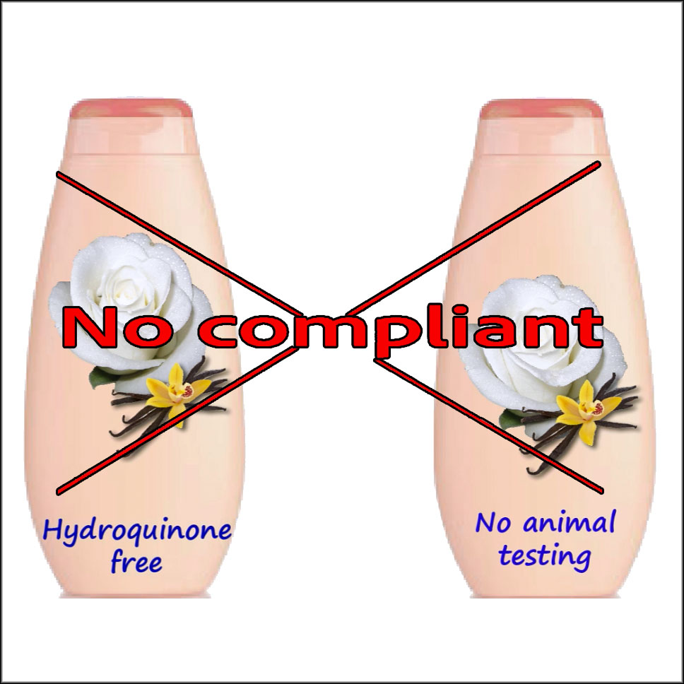No-compliant cosmetic claims