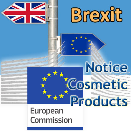 Notice Brexit & cosmetics from the European Commission