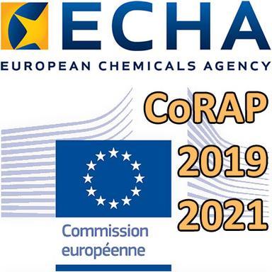 Proposition de l'ECHA pour le CoRAP 2019-2021