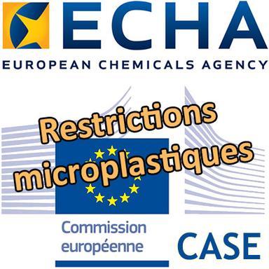 Le CASE de l'ECHA valide une large interdiction des microplastiques